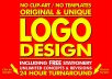 Give Unlimited Logo Concepts + Free Stationery + Favicon + Unlimited Logo Revisions