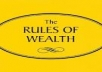 give you 100 rules of wealth