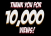 Give 10000+ FAST YOUTUBE and 30 Likes In less then 24 - 48 Hou