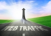 tell you where you can get UNLIMITED TRAFFIC to your website, blog and social media pages