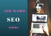 write a 500 word eye catching article for your website in 24 hours.