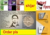 design an Amazing flyer, banner, cover, business card, post card