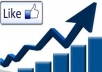 give 1000 Real And Active Facebook Page likes