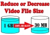 Reduce your video 90% without losing quality