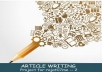 write over 800 article words,blog post,and reviews