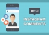 deliver 50 personalised Instagram Comments to any picture/s (SPLIT TO 10)