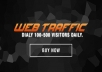 drive Unlimited Targeted Website Traffic and Social Visitors for 30 days