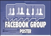 post to 50 of your facebook groups