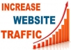 show you where and how to get unlimited visitors/traffic to your site/blog minimum of 450 visitors daily