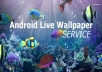 make any video into android live wallpaper