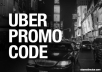 Give UBER Referral Free Rides
