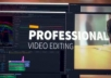 do PROFESSIONAL video editing in under 6 hours