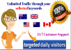 drive Usa traffic through your selected keywords