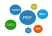 Convert 5 pages of pdf or any scanned document to Editable format