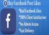 Provide You 5000 Facebook Post/Photo Likes