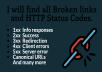 Find All Broken Links on Your Website
