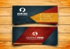 DESIGN A UNIQUE BUSINESS CARD WITH YOUR LOGO ON IT