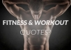 design 50 Fitness Quotes with your Logo in 24 hour