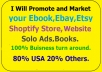 promote And Market Your Website, Solo Ads, Ecommerce,Ebay,Etsy,Amazon,Products