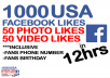 give Your 1000 Facebook Page, Post Like