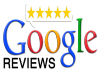 give you 2 five star Google review for your business