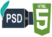 Work on Your Psd To Html Into Responsive Template