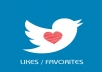 add 200+ Twitter Retweets or Favorites Instant