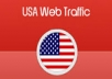 Give you 15000 quality USA traffic to your website