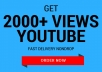 send you 2000 views to your youtube video