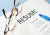 write a compelling resume for you