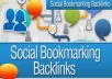 Add ping, your site to 400 social bookmark Premium quality backlinks