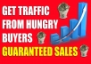 DRIVE 500,000+ Real Human Traffic to your Website or Affiliate link.