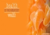 write articles on health and wellness for you