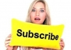 send 400+ subcriber for your YOUTUBE account