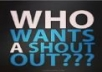 give you two permanenet shoutouts in two pages with over 130K followers just