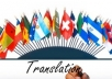 translate all languages more than 1000 words for you.