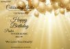 Design Birthday Cards, Flyers & Posters