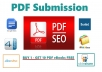 Submit 10 PDF submission on document sharing sites - BUY 1 - GET 10 PDF eBooks FREE