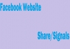 Do Fast 350 Social Signals Of Facebook Share/Signals