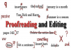 Do Proofreading editing and copying data