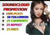 DO COMPLETE SOUNDCLOUD PROMOTION