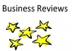 write 2 permanent google business reviews for your business