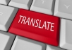 do english arabic translation