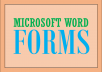 create Microsoft Word Forms