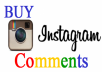 give 20 Instagram custom comments