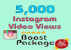 Give you FAST real 5,000+ Instagram Views
