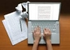 I will write an article of 400 words for $5.The article will be proofread and provided to you within 72hours positively.