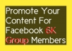 Pin Your Post On Facebook Group At 6k Members For 30 Days