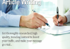 Do Article writing,blog writing,proofreading and editing