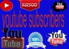 give you Real 200+ Youtube Active Subscriber